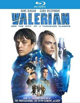 Valerian and the City of A Thousand Planets (Blu-ray Disc ONLY, 2017)