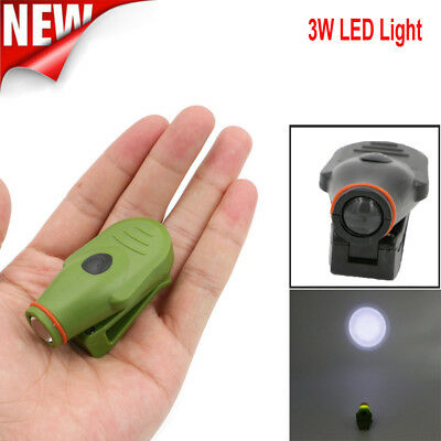 Mini Super Bright Clip-on LED Cap Hat Light Headlamp for Hiking Camping Outdoor