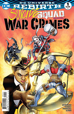 SUICIDE SQUAD WAR CRIMES SPECIAL #1, New, First Print, DC REBIRTH (2016)