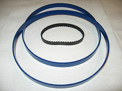 """2 BLUE MAX 1//4/"""" ROUND DRIVE BELTS FOR CLARKE  CBS355 BAND SAW"""