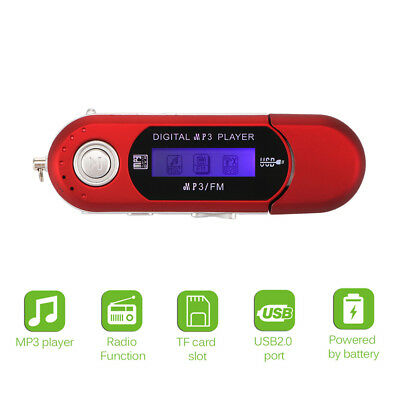 MP3 Player Touch Screen Music Player FM Radio Running Support SD Card Portable