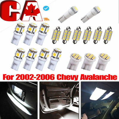 11PCS Interior LED Light Bulb Package Kit White For 2006-2012 Honda Civic Car CA