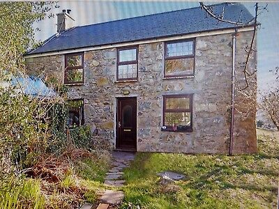 Detached cottage in Snowdonia North Wales. Peaceful village location.
