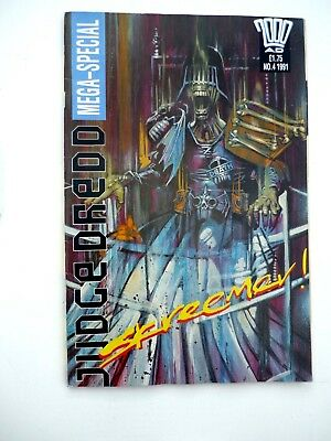 """Judge Dredd"">Mega-Special>""Skreemer!"">No.4>1991>UK..."