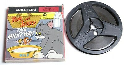 Super 8 8mm Colour Sound Film 'Tom & Jerry The Milky Waif' - MGM