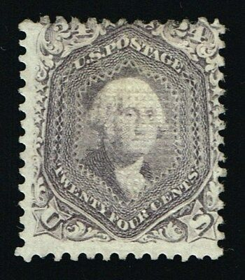 CKStamps: US Stamps Collection Scott#99 24c Washington Mint H OG Cert CV$8500