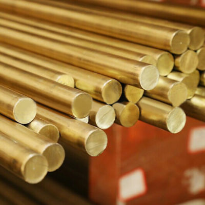 Brass Round Rod Bar Modelmaking Diameter 3mm 4mm 5mm  6mm 8mm 10mm 12mm 14mm