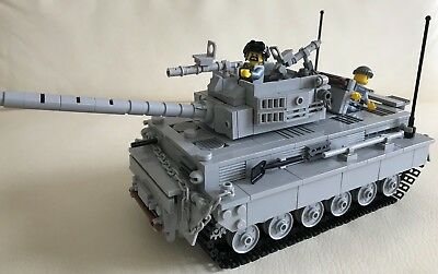 my design LEGO parts only 1 MODERN TIGER TANK solid /& playable EXCELLENT