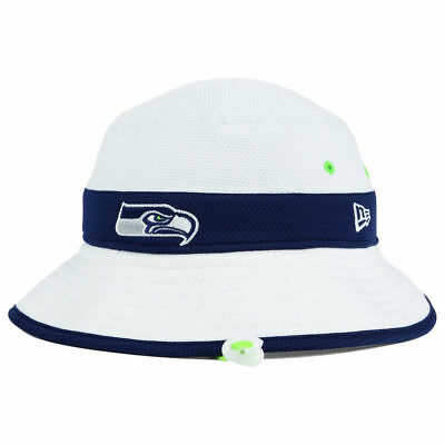 Seattle Seahawks NFL Training Camp Bucket New Era Men s Floppy Hat Cap  Football afc98626a92b