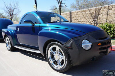 2005 Chevrolet SSR  2005 Chevrolet SSR Aqua Blur Metallic Blue Convertible Hardtop - VIDEO