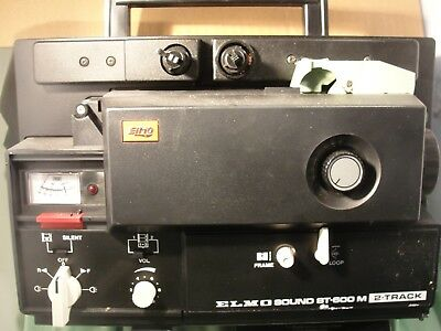 ELMO ST-600 2-Track 8mm Sound Projector