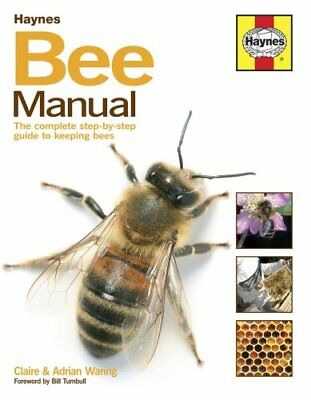 The Bee Manual by Claire Waring 9780857338099 (Hardback, 2015)