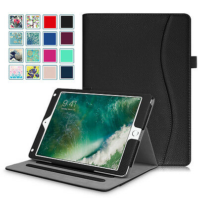 For iPad 6th Gen 9.7'' 2018 A1893 / A1954 Folio Leather Case Cover Sleep / Wake