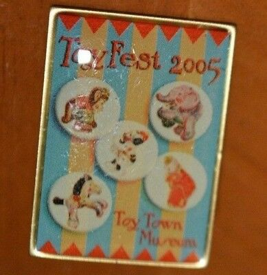 Fisher Price Toy Fest Pins Your Choice $10 Each: Popeye Space Blazer Frog Clown