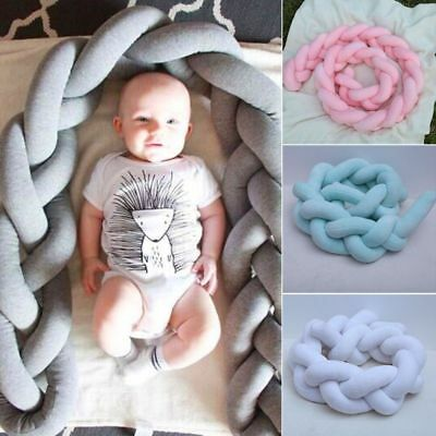 1.5m Pink Nordic Style Velvet Knot Ball Cushion Pillow Baby Calm Sleep Dolls