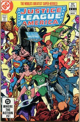 Justice League Of America #212 - VF/NM