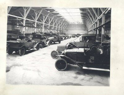 1921 Citroen Cars in Factory ORIGINAL Factory Photograph wy3074