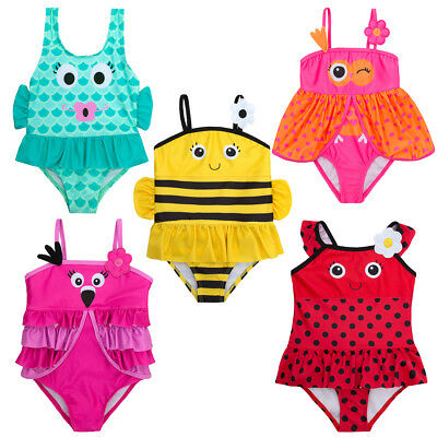 Babytown Baby Girls Novelty Swimming Costume