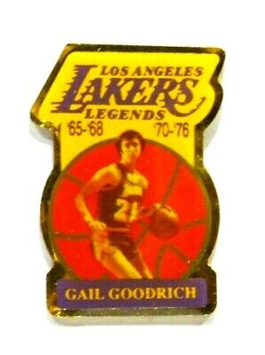 Pins Basket Ball Lakers Los Angeles Gail Goodrich Legends