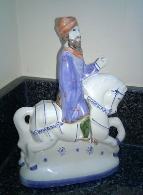 Vintage Rye Pottery Canterbury Tales Collection The Knight Figure Figurine