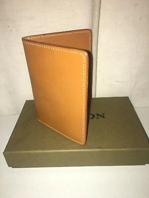 New Filson Made In Usa Leather Passport & Card Case $125