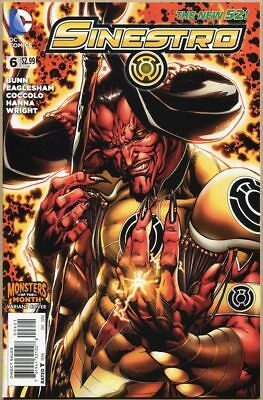 Sinestro #6 - NM - Monsters Of The Month Variant - New 52
