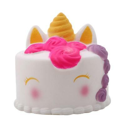 Jumbo Slow Rising Squishies Scented Unicorn Cake Squishes Squeeze Toy CB