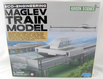 ECO-ENGINEERING MAGLEV TRAIN Model Green Science Super Fast
