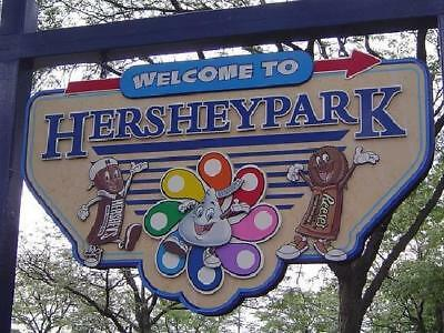 4 -   2018 Hershey Park One Day Admission Tickets Ex. 7/31/18 Hersheypark Passes