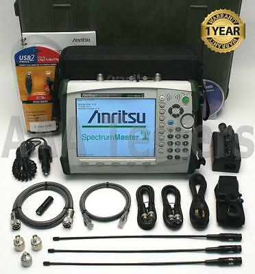 Anritsu MS2721B HandHeld Spectrum Master Analyzer w/ Tracking Generator MS2721