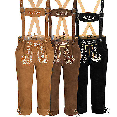Ladies Leather Trousers with Suspender Knee-Breeches Uniform Size 34 - 44
