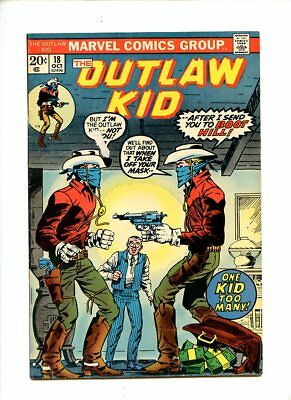 The Outlaw Kid #18,19,21 (1973) Marvel Western GD/VG