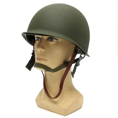 WW2 USA Military M1 CS Helmet  Soldier WWII Army Liner Equipment Outdoor Gifts