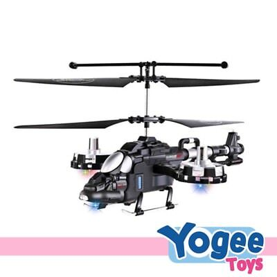 3.5-Channel Remote Control Die-Cast Helicopter with Gyro & USB