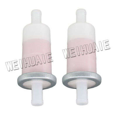 "2x 3/8"" Fuel Filter For Honda Shadow ACE Aero Spirit 750 1100 Motorcycle Series"