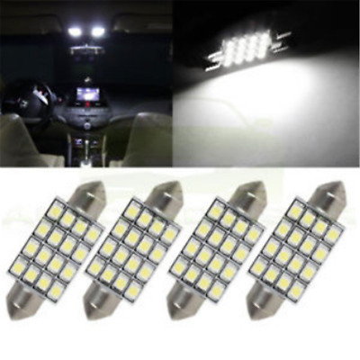 3PC White 42mm 16SMD Car LED Festoon Dome Map Interior Cargo Light Bulbs 578 New