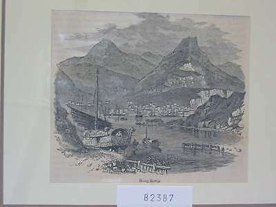 82387-Asien-Asia-China-Hongkong-T Holzstich-Wood engraving
