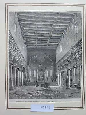 92375-Italien-Italy-Italia-Ravenne Ravenna-T Holzstich-Wood engraving
