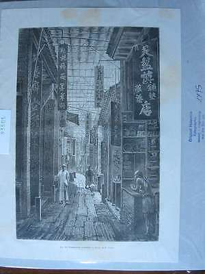 93505-Asien-Asia-China-Canton Kanton-T Holzstich-Wood engraving
