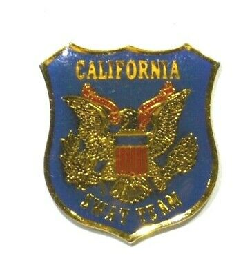Pins Armee Americaine Usa California Swat Team Californie