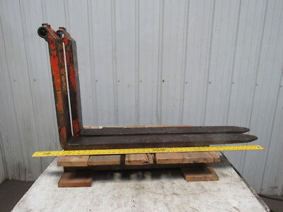 """42""""x4""""Wx1-1/2"""" Thick Pin Type Bucket Loader Pallet Forks Forklift 1 Pair"""