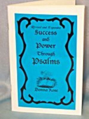 NEW Success and Power through the Psalms Book by Donna Rose BSUCPOW