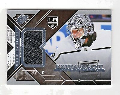 Jonathan Quick Nhl 2017-18 Spx Extravagant Materials (Los Angeles Kings)