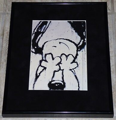 Tom Everhart Peanuts Snoopy Can't Believe My Eyes Framed Print Charles Schulz