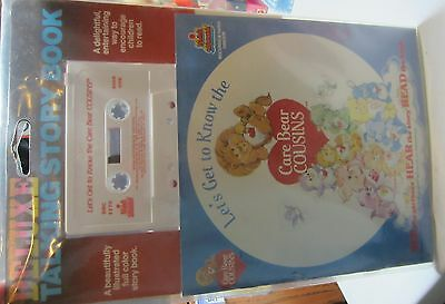 Vintage Care Bear Cousins -  Book Set - Book And Tape - Mip
