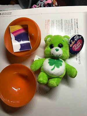 limited edition care bears little surprise plush toy good luck bear