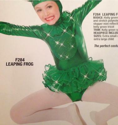 Dance Costume  frog character jazz tap leaping frog