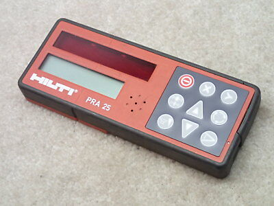 Hilti PRA 25 Receiver Remote Made in Germany for PR25 Laser Level