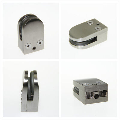 Stainless Steel Glass Clips Bracket for Clamp 8-10mm Glass Handrails Balustrades