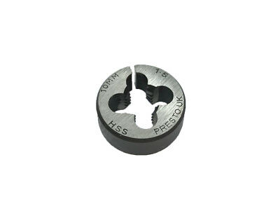Rdg New Presto Hss Split Die M10 X 1.5 Circular Threading Die Metric